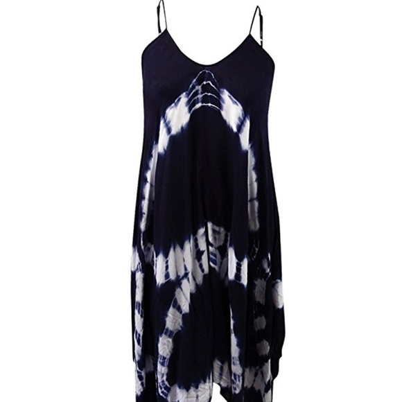 e2bb4dec8539e Raviya Tie-Dye Handkerchief Maxi Dress Cover up